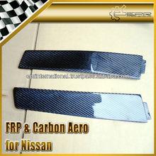 For Nissan Skyline R33 GTR GTST Carbon Fiber B-Pillar Cover