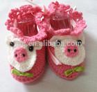 Custom Crochet Baby Girls HandmadeKnit Shoes