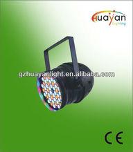54*1W RGB LED PAR 64 indoor dmx stage lighting