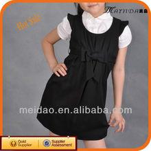 2013แบรนด์แฟชั่นสีดำในช่วงฤดูร้อนเด็กเสื้อผ้าเด็กสวมใส่