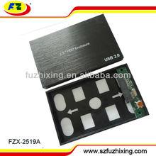 2.5 inch SATA HDD Enclosure usb2.0 Custom Aluminum HDD Enclosure