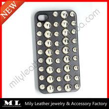 MLPC-0008 Hot sale fashion Punk rivet leather phone case