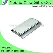 Stylish PU leather card case