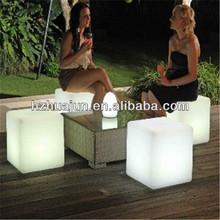 Fantastic led cube coffee table&led cube furniture