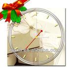 Christmas 2013 Craft Art Clocks Silence For Decorating Desk