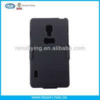 Clip combo holster case for lg optimus l5 ii e450/e460