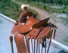 Eco Leather Western Horse Saddles
