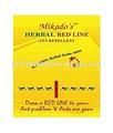 Formiga repelente- herbal linha vermelha