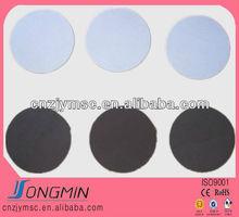 die cut big round adhesive rubber magnet