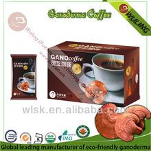 Organic Coffee Mix with Ganoderma Powder