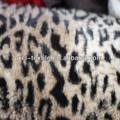 Vải lông thú giả sang trọng XCl 2013 bán chạy bằng da báo in