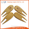 Custom bamboo golf products golf pitch fork