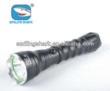 latest led rechareable smilingshark geepas flashlight c7