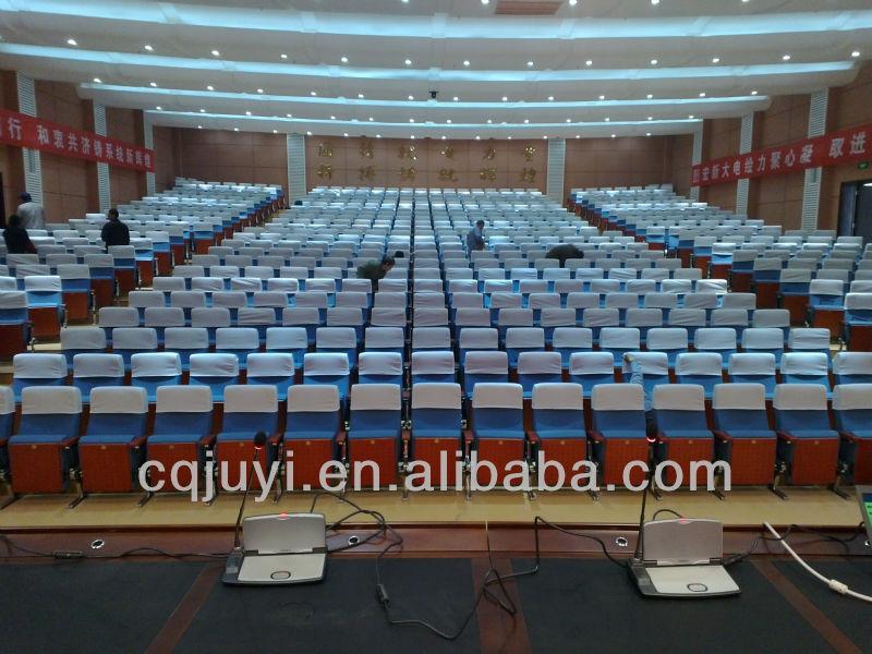 Aluminum leg movie theater chairs JY-606