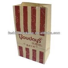 kraft food paper bag/kraft paper bag for food packaging