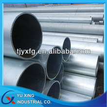 Q195 hot dip galvanized steel pipe trading ,round galvanized steel pipe trade,Zinc Galvanized Round Steel Pipe