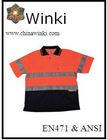 High Visibilty Work Wear Reflective Polo-shirt and Apparel
