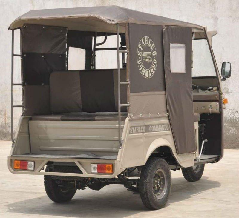 three Wheeler Seven Seater Auto Rickshaw