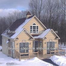 light steel structure frame prefabricated villas