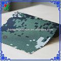 Hangzhou textil yirun coche tapicería de tela de camuflaje con fly-210t julio recubiertos de tela coche
