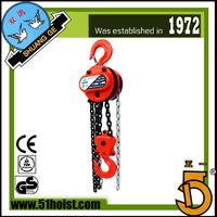 Building Hoist , Shuang Ge (Peace Bird) brand HS-T chain hoist, 0.5T-20T