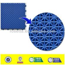 antislip tiles plastic tile for sports like basketball tennis futsal