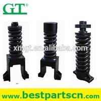 track chain tensioner, recoil tension spring, excavator track adjuster