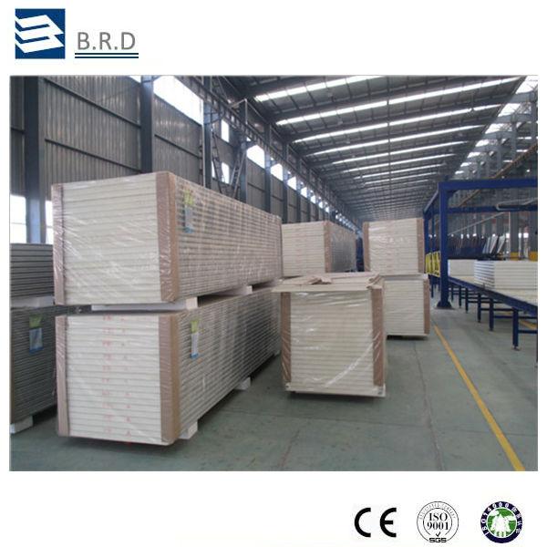 economic good quality china fireproof polyurethane sandwich panel