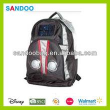 cheap 1680d solar laptop backpack bag with speaker