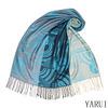 Newest Fashion Fringe Pashmina Wrap Turquoise Ladies Knitting scarf