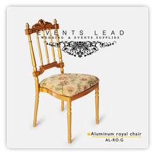 Aluminum Royal Chair Gold
