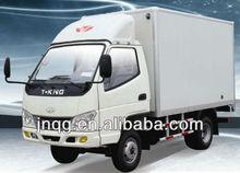 T-king 4x2 mini box van truck 1.5 ton for sale
