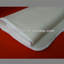 wellcool comfortable 3d spacer mesh fabric cooling mattress topper