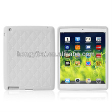 Factory wholesale silicone diamond table case for ipadmini