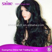aaaaaa human hair full lace wig