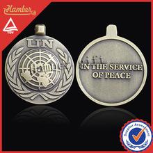 delle nazioni unite medaglia del metallo custom