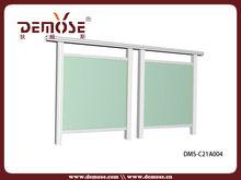 Aluminium verre garde - corps pour extérieur balcon