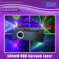 novos perfeito efeito 600mw ilda rgb sky luz laser