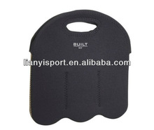 2013 fashionable high quality 6 pack neoprene bottle wine cover