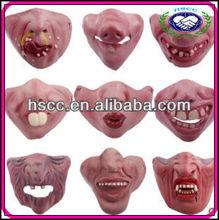 Wholesale Eco-friendly Latex Half Face Masquerade Mask Christmas Halloween Funny Mask