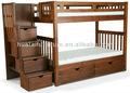 flexível sólidos de madeira de pinho miúdos cama de beliche estável meninos ou meninas solid beliche de madeira moda druable crianças cama de beliche