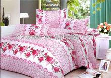 100% polyester elegent design bedding set/exporter/manufacturer