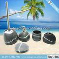 Salle de bains ea0065 noir et blanc/marques. de robinetteries
