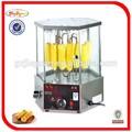 Venda quente Auto rotação milho grill / Revolve tipo assados de milho mchine EB-18