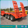 heavy equipment trailer, low bed semi trailer for sale