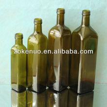 square olive oil bottle 250ml/500ml/750ml/1000ml