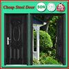 LBS-8805 Cheap interior security metal door