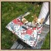BACKBONE new fashion colorful shoulder dog carrier bag with multiple pattern,printing grain pet carrier bag