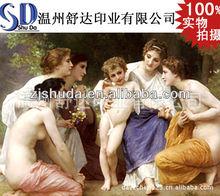 Caliente venta 3D cuadros de mujer desnuda / 3D cartel de la foto del