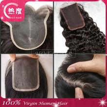 factory price wholesale virgin brazilian hair closure, lace closure, silk top lace closure